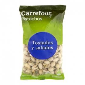 Pistachos tostados y saldaos Carrefour 400 g.