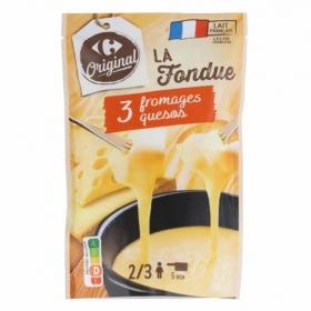 Queso fondue Carrefour 400 g.