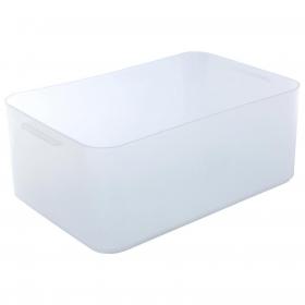 Caja de Plástico Pratik Box Carrefour Home A5 Mediana - Transparente