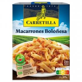 Macarrones boloñesa carretilla 325 grs 325 g.
