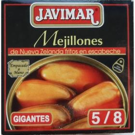Mejillones en escabeche Javimar 81 g.