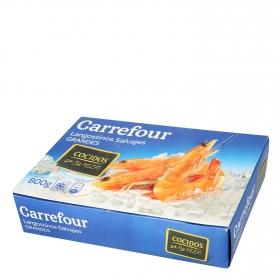 Langostino salvaje cocido 24/32 Carrefour 800 g.
