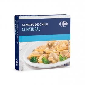 Almejas al natural Carrefour 63 g.