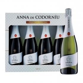 LOTE 103: 4 botellas D.O Cava Anna de Codorníu brut 75 cl.