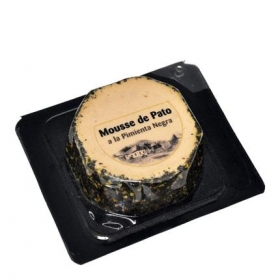 Mousse de pato con pimienta negra Casa Westfalia sin gluten 100 g.