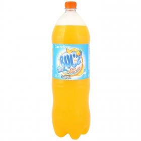 Refresco de naranja Carrefour con gas light botella 2 l.