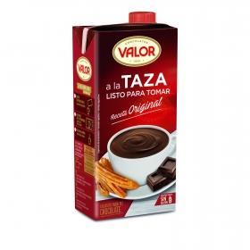Chocolate a la taza listo para tomar Valor 1 l.