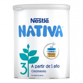 Fórmula de Crecimiento Nativa 3 en Polvo 800g