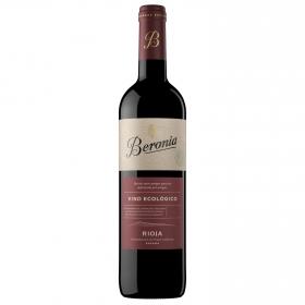 Vino D.O. Rioja tinto ecológico Beronia 75 cl.