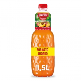 Néctar multivitamina Granini botella 1,5 l.