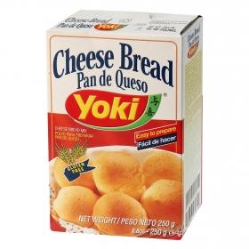 Polvo para pan de queso Yoki sin gluten 250 g.