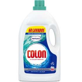 Detergente líquido Nenuco Colon 60 lavados.