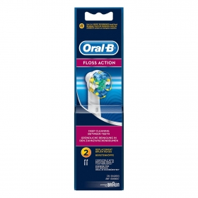 Cepillo dental eléctrico Floss action EB25 recambio Oral-B 2 ud.