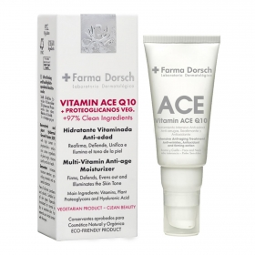 Tratamiento intensivo reafirmante y antioxidante Vitamin, A,C,E Q10 - 50 ml. + Farma Dorsch 1 ud.