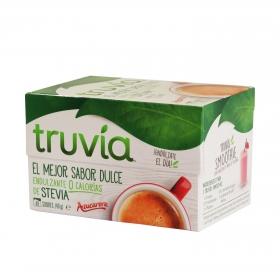 Endulzante en sobres Truvia 40 unidades de 1,5 g.