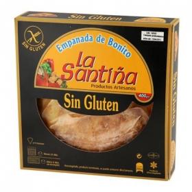 Empanada de bonito La Santiña sin gluten 400 g.