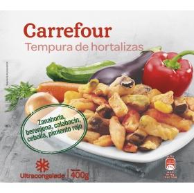 Tempura 5 verduras Carrefour 400 g.