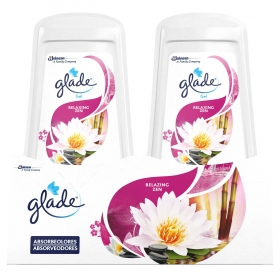 Ambientador absorbe olores Relax Zen Glade by brise pack de 2 unidades de 150 g.