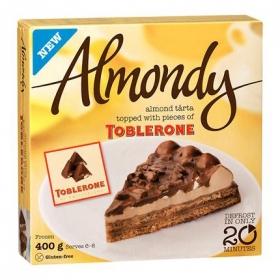 Tarta helada de almendra y toblerone Almondy sin gluten 400 g.