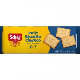 Galletas Schär sin gluten 150 g.