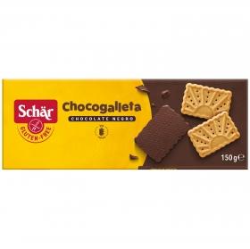 Galletas con chocolate Schär sin gluten 130 g.