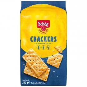 Crackers Schär sin gluten 210 g.