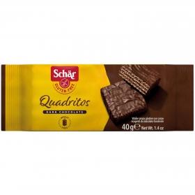 Chocolate relleno de avellana Schär sin gluten 40 g.