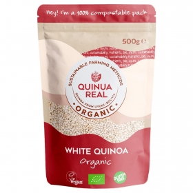 Quinoa ecológica Quinua Real sin gluten 500 g.