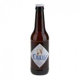 Cerveza artesana La Cibeles rubia botella 33 cl.