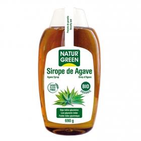 Sirope de agave ecológico Naturgreen sin gluten 690 g.