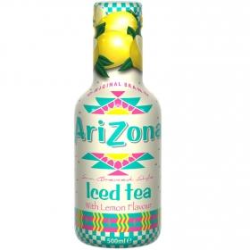 Refresco de té Arizona sabor limón botella 50 cl.