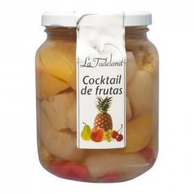 Cocktail frutas La Tudelana 410 g.