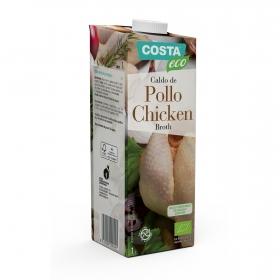 Caldo de pollo ecológico Costa Eco sin gluten 1 l.
