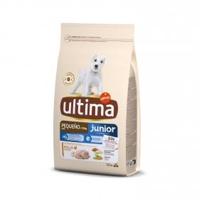 Pienso de pollo para perros cachorro Mini Ultima 1,5 Kg