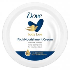 Crema corporal nutrición intensa Dove 150 ml.