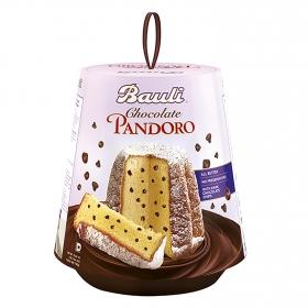Panettone con pepitas de chocolate Bauli 750 g.