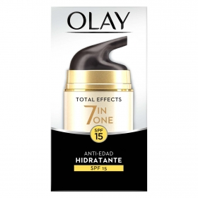 Total efect 7 in one Antiedad hidratante SPF15 Olay 50 ml.