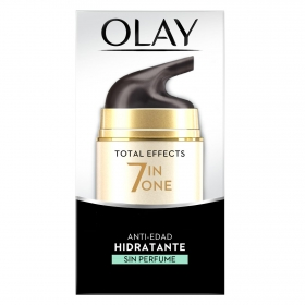 Crema de día anti-edad hidratante sin perfume Total Effects 7 en 1 Olay 50 ml.