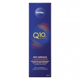 Crema de noche energizante con Vitamina C Nivea Q10 40 ml.