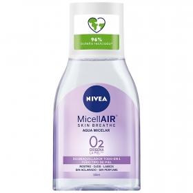 Desmaquillador todo en 1 Agua Micelar MicellAir Nivea 100 ml.