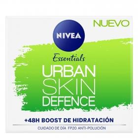 Crema de día Urban Skin Defense FP20 Nivea 50 ml.