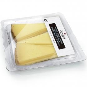Queso mezcla viejo, queso de oveja y queso mezcla curado madurados en tapas Juan Luna 150 g