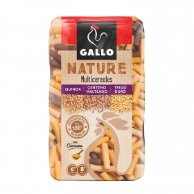 Macarrones Multicereales Gallo Nature 400 g.