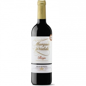 Vino D.O. Rioja tinto Gran reserva  Marqués de Valido 75 cl.