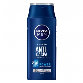 Champú Anti-caspa Power con extracto de bambú Nivea Men 250 ml.