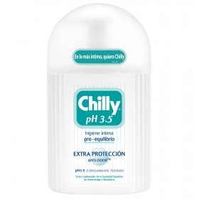 Gel íntimo ph 3.5 Extra protección Chilly 200 ml.