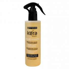 Keratina líquida con aceite de argán para cabello castigado Les Cosmétiques 200 ml.