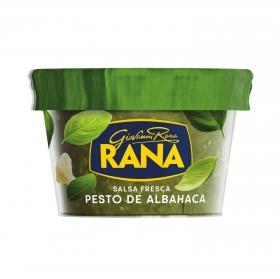 Salsa pesto de albahaca Rana tarro 140 g.