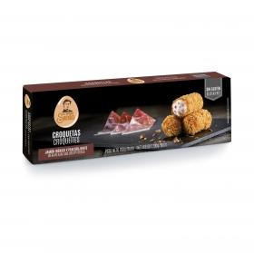 Croquetas de jamón ibérico y pan crujiente La cocina de Senén sin gluten 200 g.