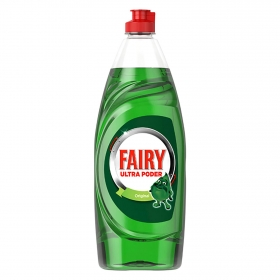 Lavavajillas a mano ultra poder original Fairy 650 ml.